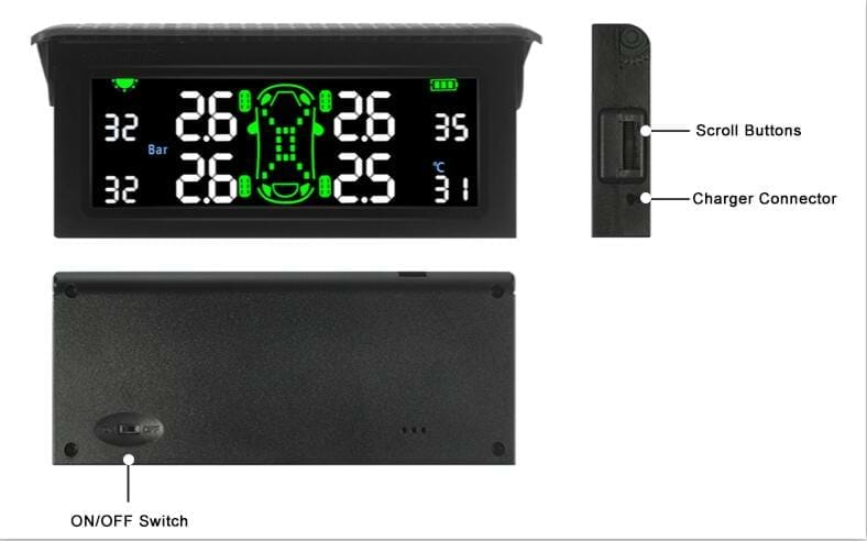 About new product T501 TPMS Tire Pressure Monitoring System