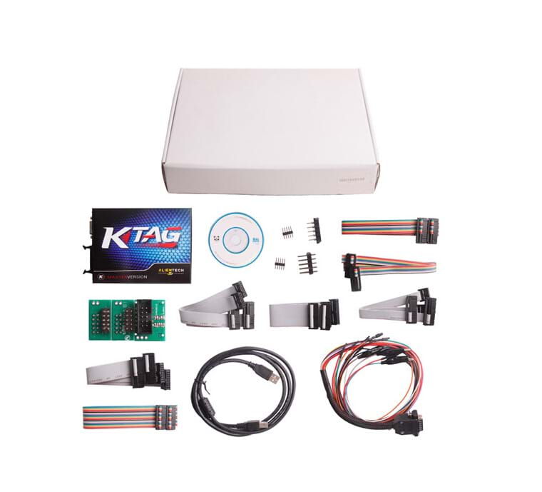 V2.11 K-Tag Master ECU Chip Tuning Multi-Language 100% J-Tag