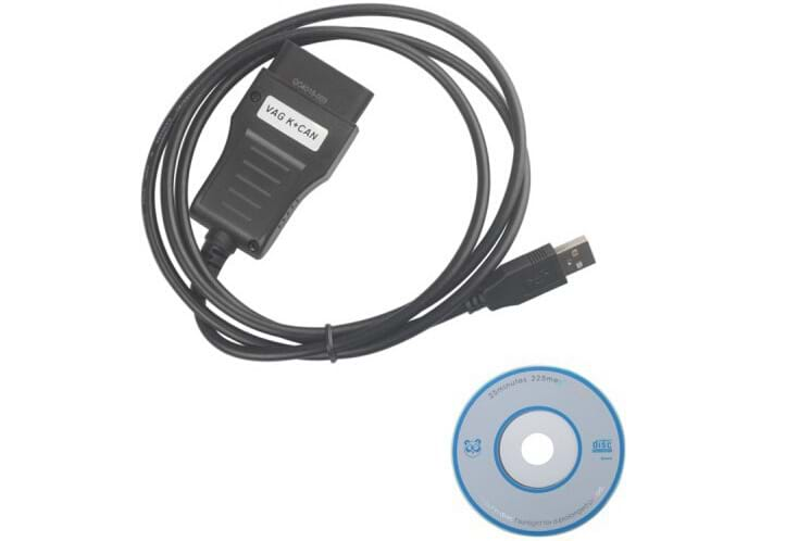 VAG K+CAN COMMANDER 3.6 for Audi VW Factory Sale OBDII VAG Diagnostic Tool with CD software