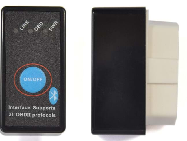 ELM327 Bluetooth OBD2 CAN-BUS Scanner Tool with Switch Work with Android elm 327 bluetooth