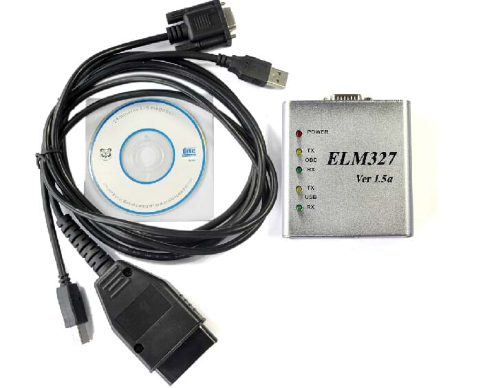 ELM 327 1.5V USB CAN-BUS Scanner ELM327 Software