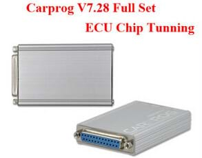 Carprog V7.28 Full Set ECU Chip Tunning Tools with 21 Adapters