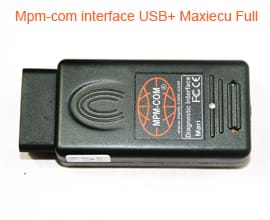 Mpm-com interface USB+ Maxiecu Full