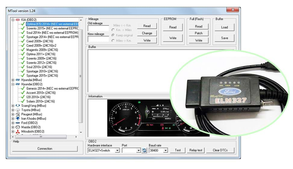 MTool 1.31 Super Mileage Software go with ELM327