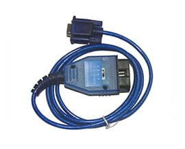 VAG KKL COM 409+ FIAT ECU Scan OBD Diagnostic Cable for Audi / Seat / VW Cars