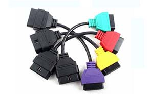 for FIAT ECU Scan Adaptors OBD Diagnostic Cable Four Colors